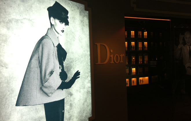 Doorway to Dior.