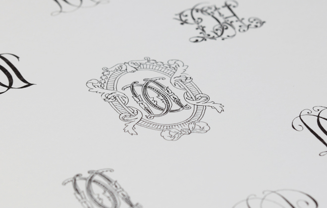 A lovely calligraphy workshop.