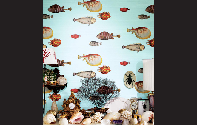 Short and Sweet #9: Fornasetti's whimsical wallpaper