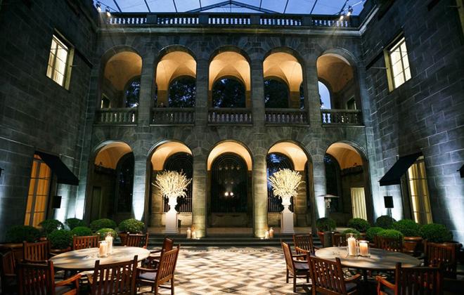Ralph Lauren's private palazzo in Milan.