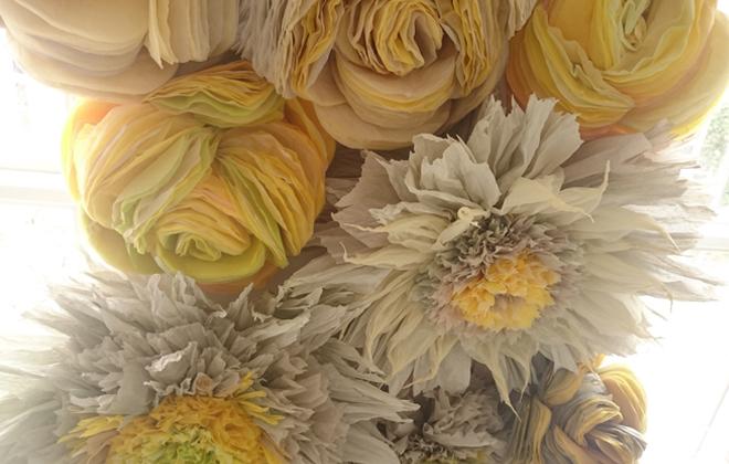 Marianne Hansen's magical paper flowers.