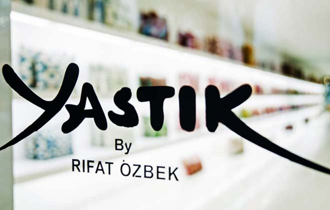 Yastik Cushions by Rifat Ozbek