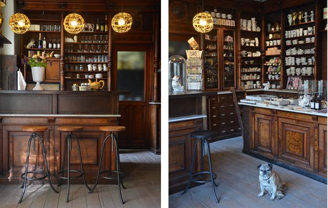 The fabulous interiors to the Kuehn Keramik store in Berlin.