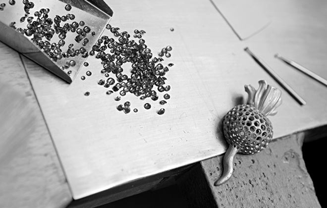 A glimpse into the Hemmerle atelier in Munich.