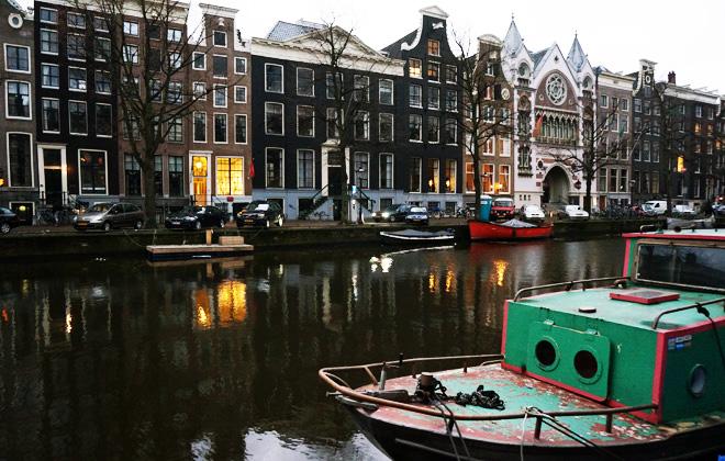Hand-Painted Amsterdam