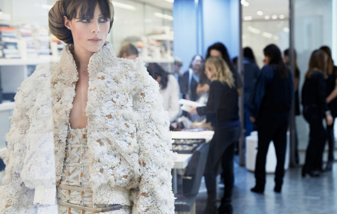 Chanel's amazing Haute Couture Spring 2016 show.