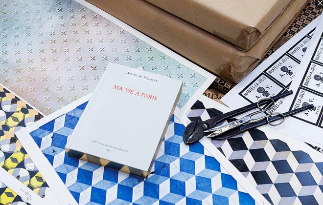 """Astier de Villatte's """"Ma Vie A Paris"""" Guide"""