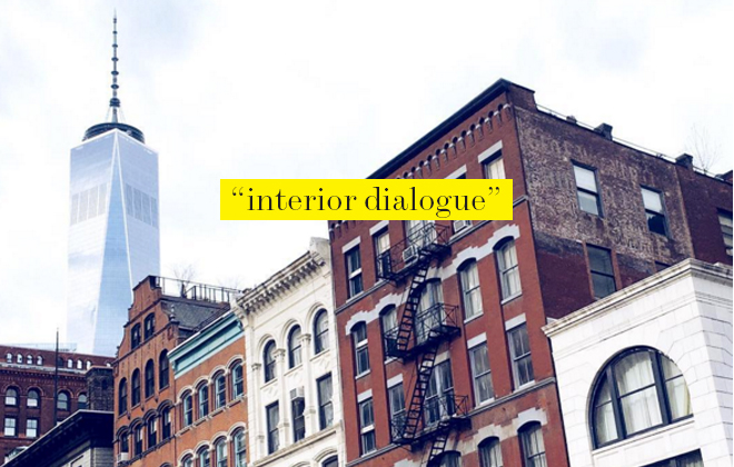 Interior Dialogue with Sarah LaConte / Tribeca