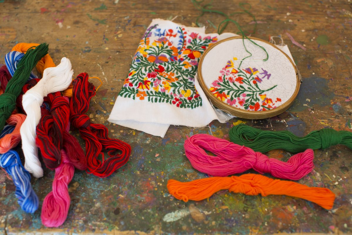 Mi Golondrina's Fanciful Embroideries
