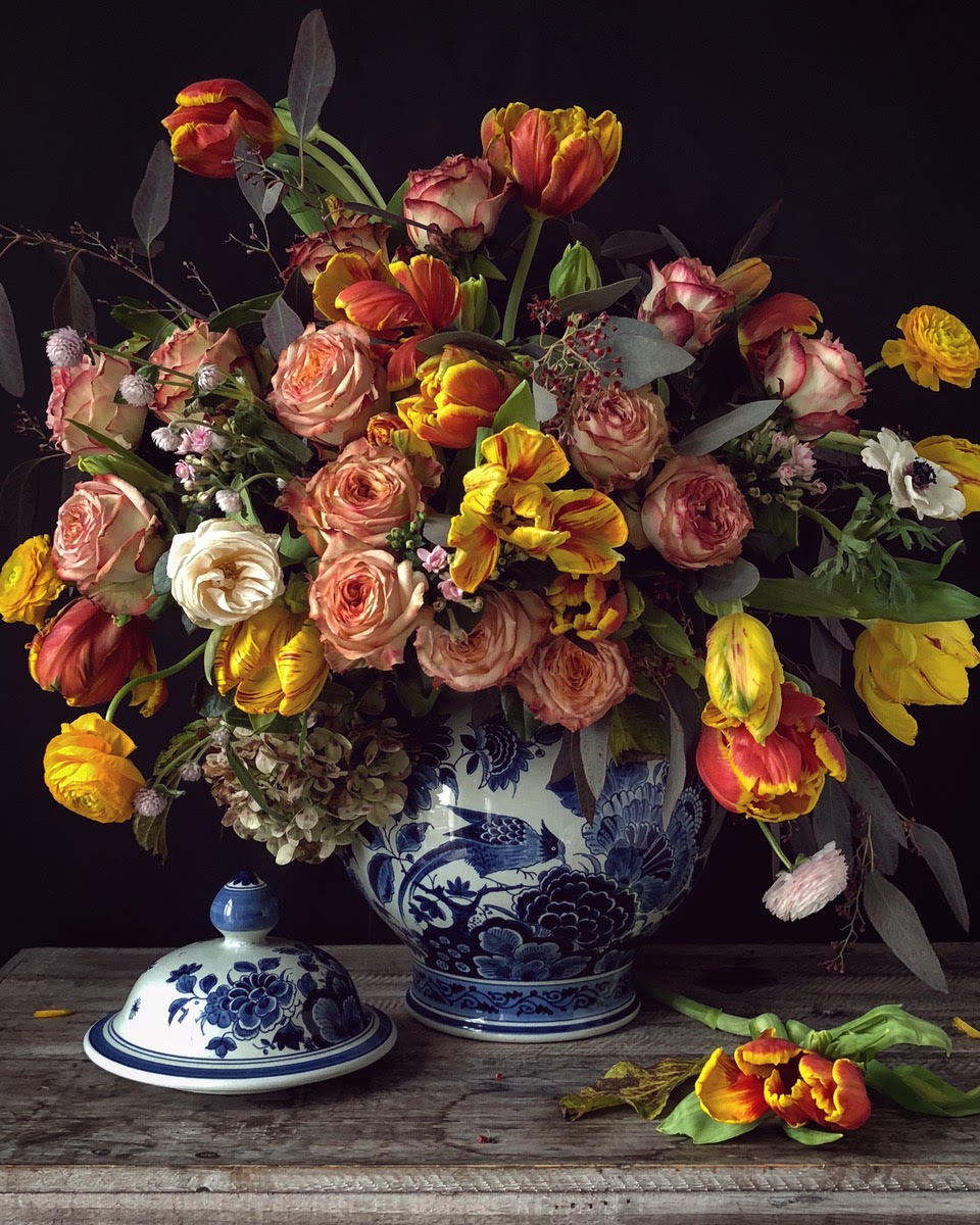 Cake Atelier Amsterdam's Sugar Flowers