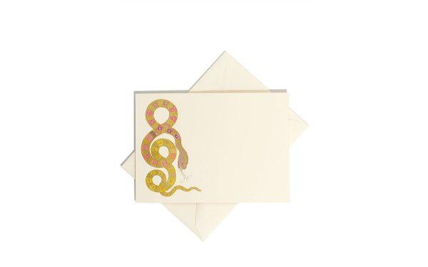 bernard-maisner-snake-stationery