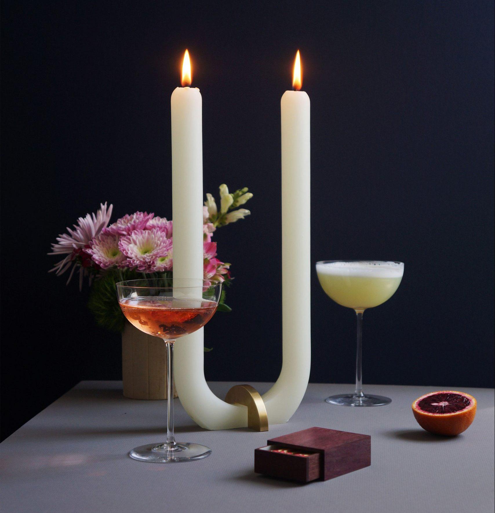 U Glaze Candle