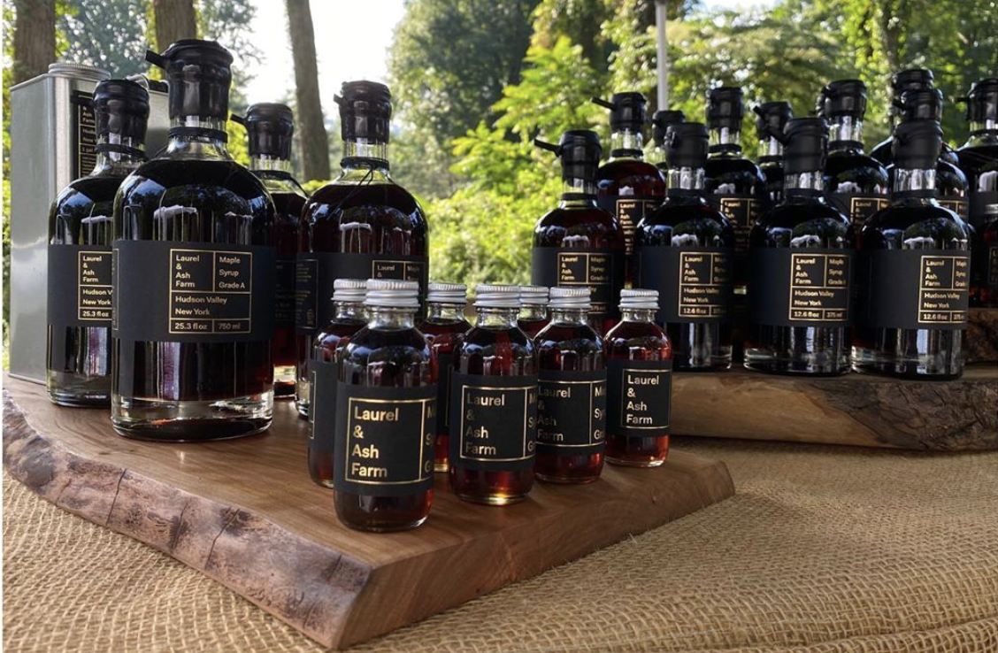 Wood-Fired Maple Syrup from Laurel & Ash