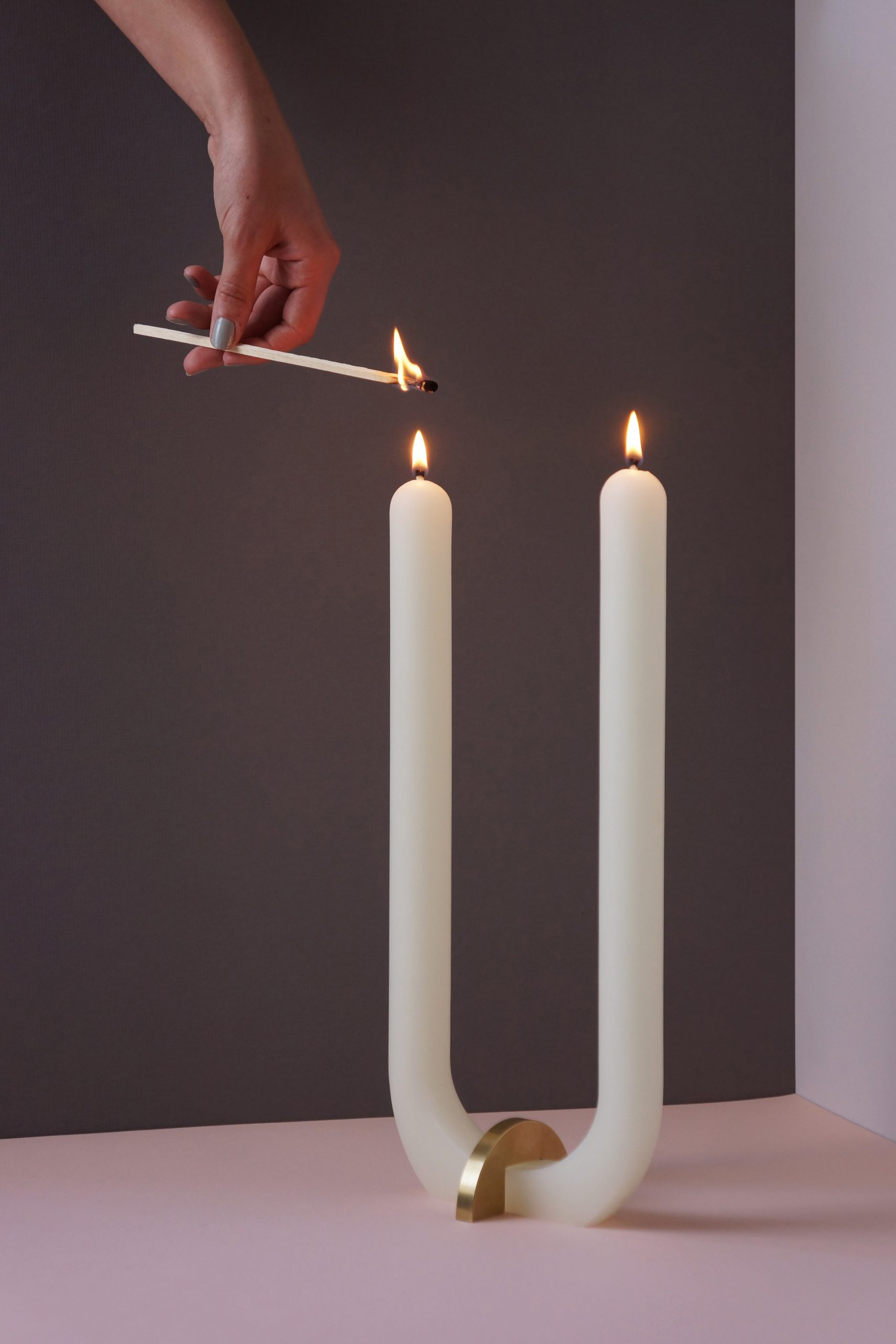 Glaze U Candle
