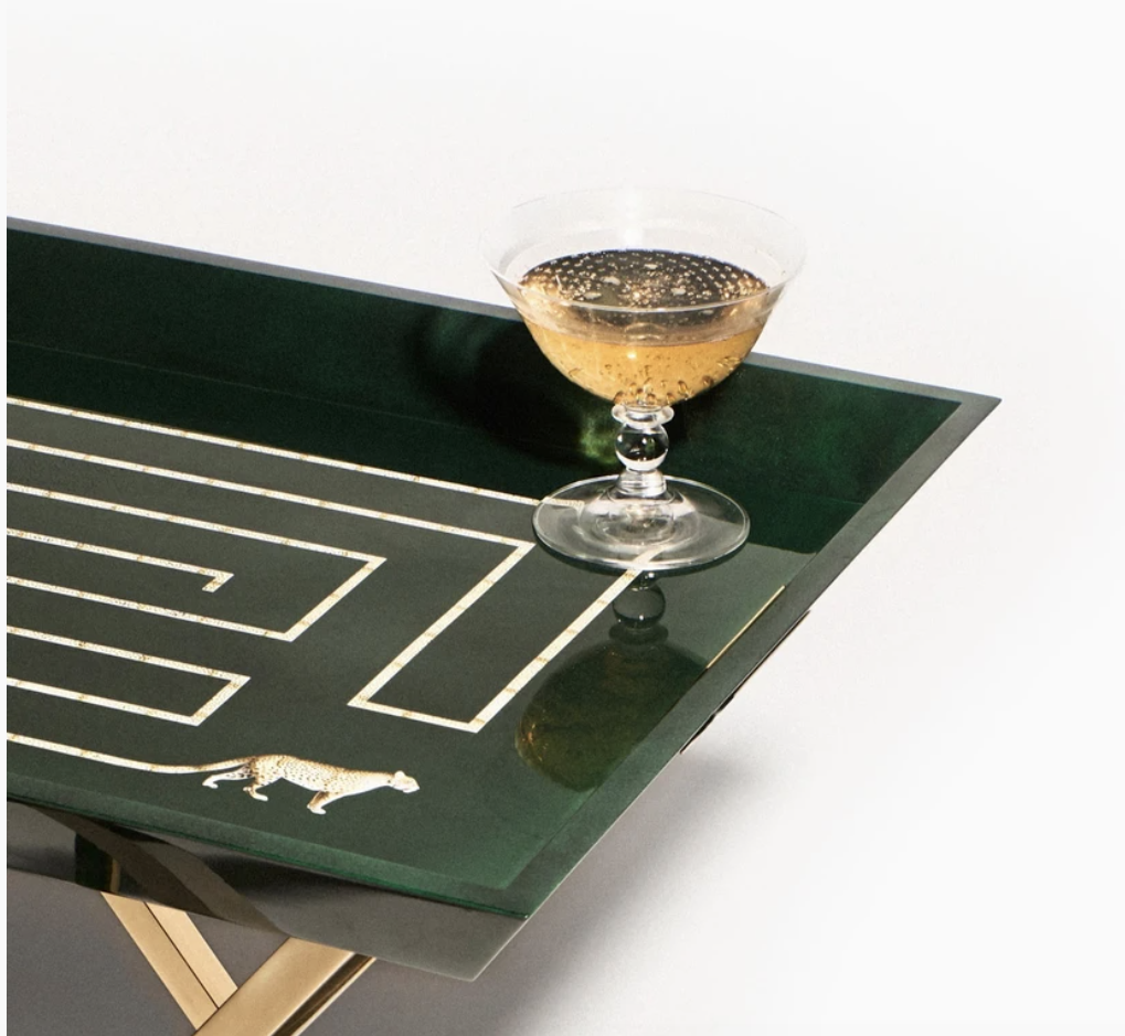 Living Lavishly with Coco Gin Lacquered Trays