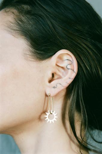EMBLM Spur Earring