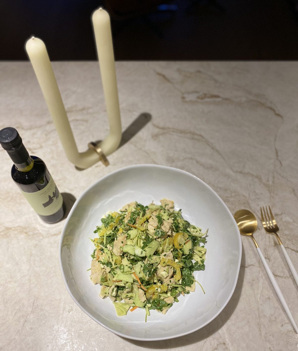 TANYA's FAVOURITE WARM CHICKEN SALAD WITH FETA