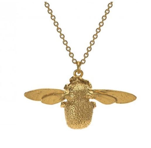 Alex Monroe Bumblebee Necklace
