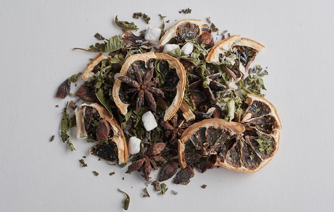 All natural ingredients for Pot Pourri.