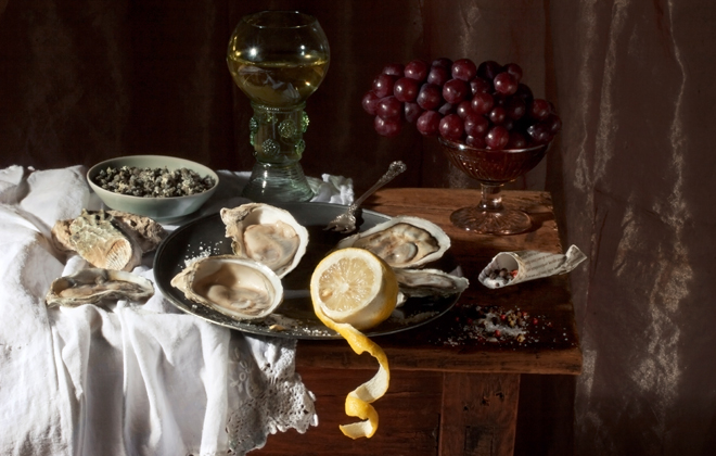 Oysters, After W.C.H, 2008